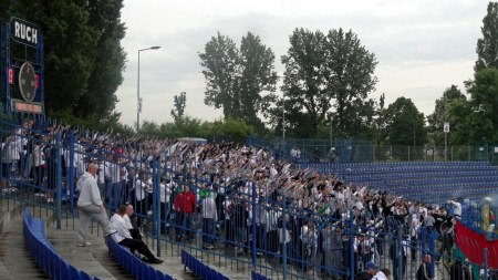 Ruch - Legia kibice fot. Nipild