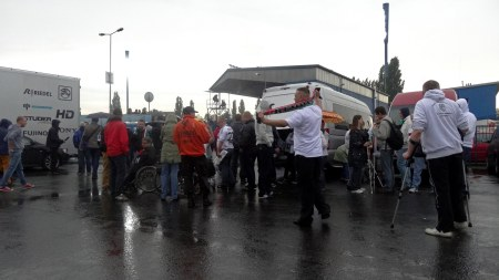 Ruch - Legia parking fot. Nipild
