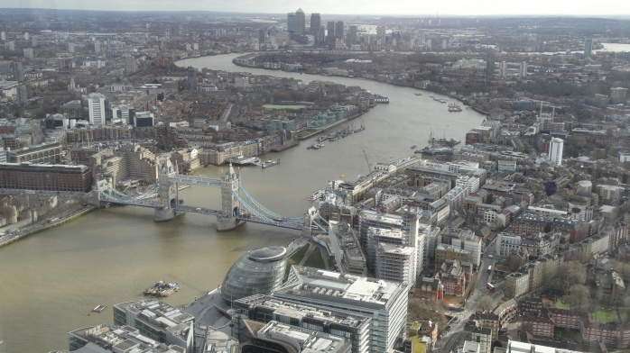 The view from Shard
