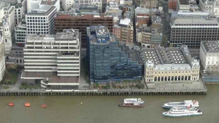 widok z wieżowca Shard