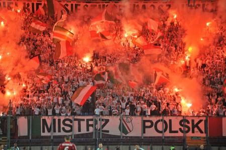 Wisła Kraków 0-3 Legia Warszawa Autor zdjęć: Mishka