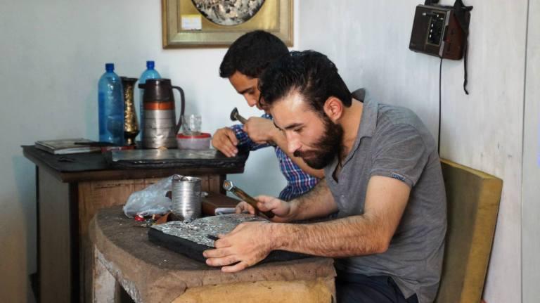 ręczna robota Esfahan