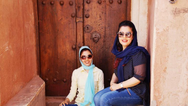 Irańskie dziewczynki