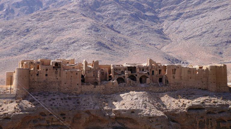 Abyaneh zamek