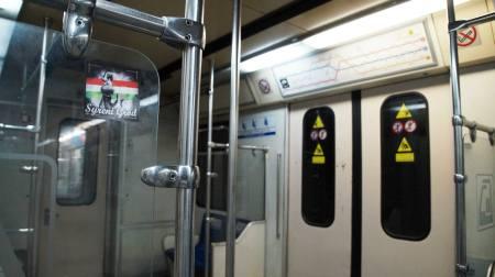 metro Teheran vlepka