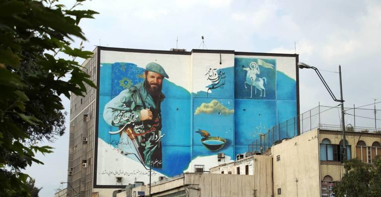 Teheran mural