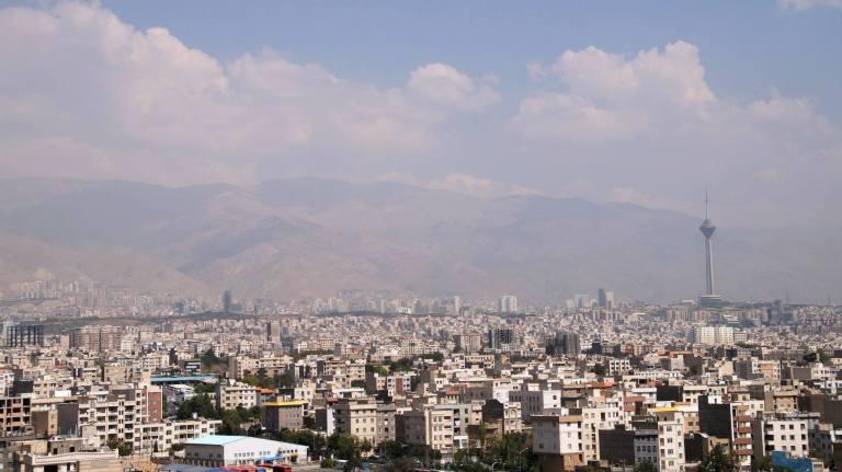 Widok z wieży Azadi