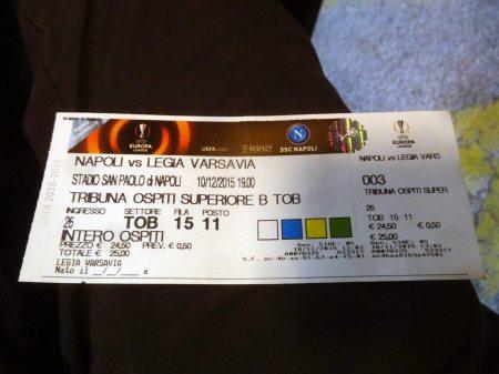 Bilet na mecz