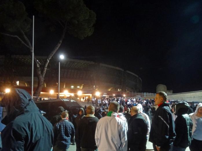 Po meczu stadion fot. Nipild
